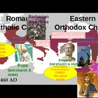Roman Catholic vs. Eastern Orthodox Church - Byzantine Chu