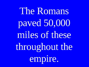 Roman Empire PowerPoint Game