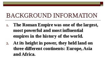 Roman Republic Power Point