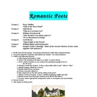 Romantic Poets - Students Analyze and Present