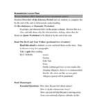 Romanticism Lesson Plans for Teachers