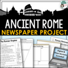 Rome / Roman Empire Newspaper