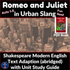 Romeo & Juliet In Urban Slang