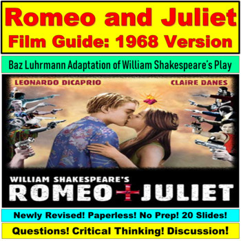Romeo and Juliet Dicaprio (1996) Film Powerpoint Guide