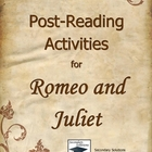 Romeo and Juliet Post-Reading Activities, Essay & Writing Prompts
