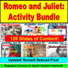 Romeo and Juliet, Shakespeare JUMBO Powerpoint