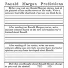 Ronald Morgan Literature Unit