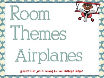 Room Themes DELUXE! - Airplanes