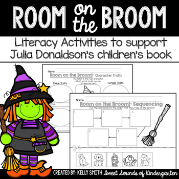 Room on the Broom! Literacy Activities
