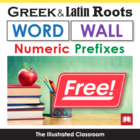 Roots of Numbers Word Wall