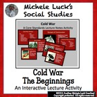 Roots of the Cold War Powerpoint w/ Core Content Notes and