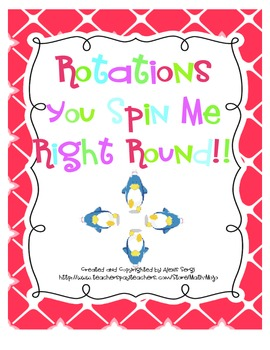 Rotations Cooperative Learning Cards