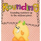 Rounding Card Game {Common Core Aligned}