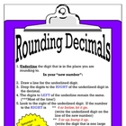 Rounding Decimals Mini Poster