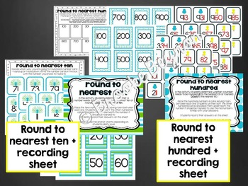 Rounding Games - Nearest Ten and Hundred