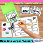 Rounding Larger Numbers { Math Workshop Activity }