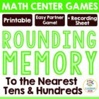 Rounding Match-Up Game - Rounding to the Nearest Tens and