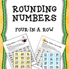 Rounding Numbers Four-in-a-Row Game (10 and 100)