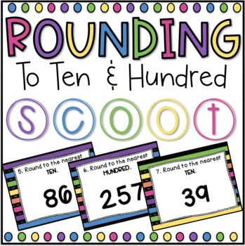 Rounding SCOOT! (task cards/review game)