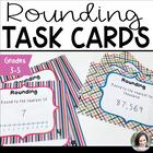 Rounding Task Cards - 20 cards in each of two levels