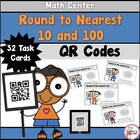 Rounding to Nearest Ten and Hundred with QR Codes