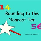 Rounding to the Nearest Ten Smartboard Lesson