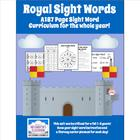 Royal Sight Words (A full year's Dolch Sight Word Curricul