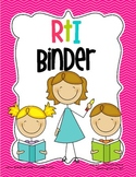 RtI Binder Cover