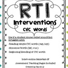 RtI Intervention Unit {CVC Words}