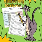Rubric: Handwriting