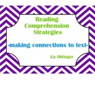 Rubric:  making connections to text