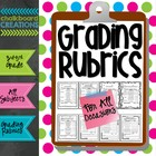 Rubrics for All Occasions: Common Core Aligned