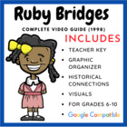 Ruby Bridges Movie Guide (Teacher Created)