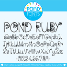 Ruby Font - Commercial and Personal Use