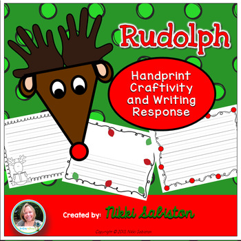 Rudolph Craftivity with Writing Paper