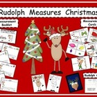 Rudolph Measures Christmas / Math / Craft / Booklet / Kind