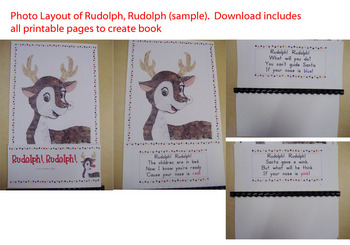 Rudolph, Rudolph Interactive Book: Printable!