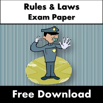Rules and Laws Exam Paper - Year 2/3