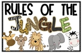 Rules of the Jungle Posters