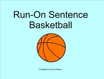 Run-On Sentence Basketball