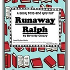 Runaway Ralph, by Beverly Cleary: A Book Test and Key