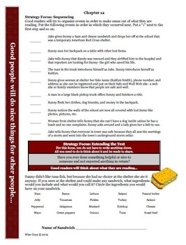 Runaway Twin Reading Comprehension Activity Guide