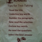 Runners Fiction Reading Strategy