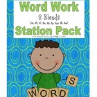 S Blends Literacy Station Word Work
