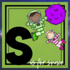 S is for Space Theme Lesson Plans (one week)