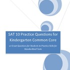 SAT 10 Test Practice Questions or Practice for Standardized Tests