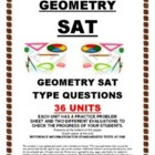 SAT GEOMETRY - 36 PRACTICE UNITS (revised)