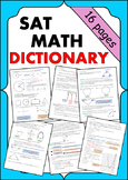 SAT Math Dictionary