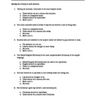 SAT Practice Worksheet A -- Identify the Sentence Errors