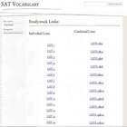 SAT Vocabulary Website, Activities and Quizzes for the Ent